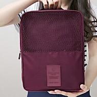 Travel Luggage Organizer / Packing Organizer Travel Shoe Bag Portable Travel Storage for Clothes Shoes Nylon / Travel