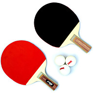 2 Sterne Ping Pang/Tischtennis-Schläger Ping Pang Holz Kurzer Griff Pickel
