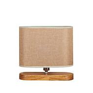 billige -Moderne / Nutidig Bue Bordlampe Til Tre/ Bambus 110-120V 220-240V
