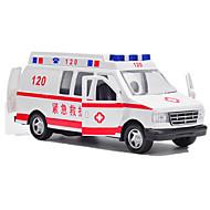 Auta na zadní natahování Autíčka Policejní auto Sanitka Hračky Kachna Auto Kov Pieces Unisex Dárek