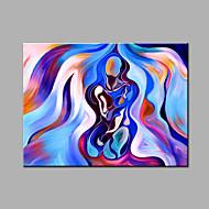 Hang-malované olejomalba Ručně malované - Abstraktní Moderní Plátno