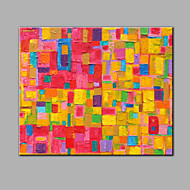 halpa -Maalattu Abstrakti Vaakasuora,Moderni 1 paneeli Kanvas Hang-Painted öljymaalaus For Kodinsisustus
