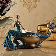 ホリデー ハウス型 ポリレジン コンテンポラリー レトロ風,収集品 屋内 装飾的なアクセサリー