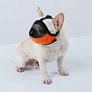 kutya szájkosarat utazási eszköz szépségápolási kellékek kiegészítők s m l állítható pánttal szegélyezett terylene brethable mesh pet