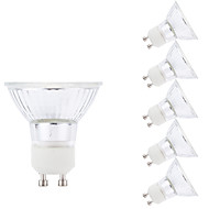 5W GU10 LED-spotpærer MR16 1 leds COB Mulighet for demping Varm hvit 380lm 3000K AC 220-240V