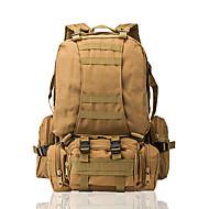 50 L mochila Esportes Relaxantes Acampar e Caminhar Viajar Prova-de-Água Vestível Resistente ao Choque Multifuncional