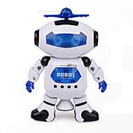 ruimte dansmuziek infrarood elektrische robot speelgoed 360 graden draaien lichten