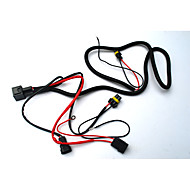 Xenon HID Light Relay Wiring Harness Kit H1 H3 H7 H8 H9 H11 9006 9005 Sales