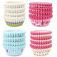 tanie Formy do ciast-Narzędzia do pieczenia Papierowy Ekologiczne / DIY Tort / Cupcake / Początkujący Tacka