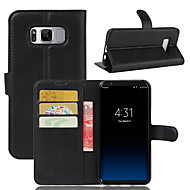 cheap -147 Case Cover Wallet Card Holder Shockproof with Stand Full Body Case Solid Color Hard PU Leather for SamsungA3(2017) A5(2017) A7(2017)