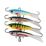 billiga Fiske-4 st Metallbete Pimplar Fiskbete Pimplar Metallbete Bly Metall Rostfritt stål/järn Sjöfiske Kastfiske Isfiske Spinnfiske Jiggfiske