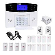 Danmini lcd wirless gsm / pstn domovní kancelář bezpečnostní zabezpečení proti vloupání poplašný systém