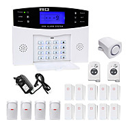 Danmini lcd wirless gsm / pstn home casa escritório de segurança intruso alarme sistema de alarme