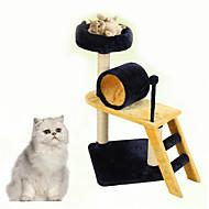 Hračka pro kočky Hračky pro zvířata Interaktivní Odolné Dřevo