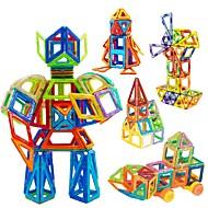 Магнитный конструктор Магнитные плитки Конструкторы 98 pcs Автомобиль Робот Колесо обозрения совместимый Legoing Магнитный Мальчики Девочки Игрушки Подарок
