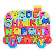 Kocke za slaganje Puzzle Poučna igračka Igračke za kućne ljubimce Automobil Drvo Uniseks Komadi