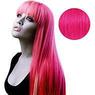 20pcs tape i hårforlengelser rosa fetish 40g 16inch 20inch 100% menneskehår for kvinner
