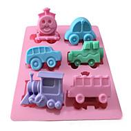 billige Bakeredskap-Bakeware verktøy Silikon Ferie / 3D / GDS Kake / Sjokolade / Is Bakeform 1pc