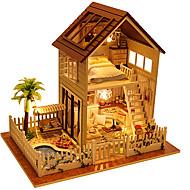 オルゴール ドールハウス おもちゃ DIY 方形 ウッド 小品 男性用 男女兼用 誕生日 ギフト
