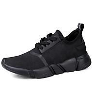 Men's Sneakers Shoes Fall Winter Comfort Casual Flat Heel Black White  Athletic Shoes