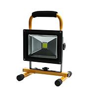 hkv®1pcs 20w 1850-1950lm軽い携帯用充電式洪水ライト非常灯ライト投光器ac 85-265v