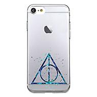 用途 iPhone X iPhone 8 ケース カバー 超薄型 パターン バックカバー ケース 幾何学模様 ソフト TPU のために Apple iPhone X iPhone 8 Plus iPhone 8 iPhone 7プラス iPhone 7 iPhone 6s
