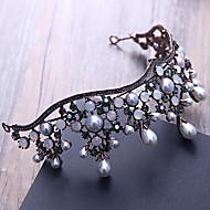 Imiteret Perle / Rhinsten / Legering Tiaras / Hair Pin med 1 Bryllup / Speciel Lejlighed / udendørs Medaljon