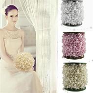 halpa -5kpl / pakkaus siima keinotekoisia helmiä helmiä ketju seppele kukkia hääjuhlissa sisustustuotteita tarjonnan