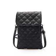 cheap Bags-Women Bags PU Mobile Phone Bag for Casual Outdoor All Seasons Green Black Sillver Gray