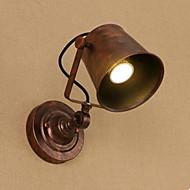billige Vegglamper-Rustikk / Hytte / Traditionel / Klassisk Vegglamper Metall Vegglampe 110-120V / 220-240V 40W