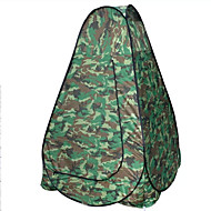 AOXIANGZHE 1 Person Telt Dobbelt camping telt Et Værelse Folde Telt Vandtæt Bærbar for Vandring Camping 2000-3000 mm Fiberglas Oxford-