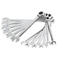 Stahlschild 12 Stück feiner Polierdorn offener Doppelschlüssel (Plastikbox) / 1 Sätze