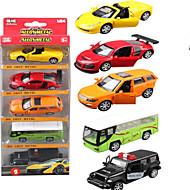 Autíčka Hračky Stavební stroj Policejní auto Hračky Obdélníkový Kov Pieces Dárek