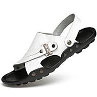 Uniseks Sandale Proljeće Ljeto Jesen Udobne cipele Koža Aktivnosti u prirodi Ured i karijera Formalne prilike Ležeran Cipele za voduObala