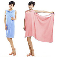 cheap Towels & Robes-Superior Quality Bath Robe, Solid Colored 100% Micro Fiber Bathroom