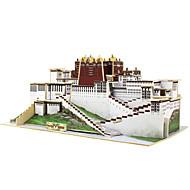Robotime Puzzle 3D Puzzle Μοντέλα και κιτ δόμησης Clădire celebru Arhitectura Chineză Lemn 1 pcs Pentru copii Jucarii Cadou