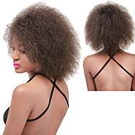 Perruque Synthétique Bouclé / Afro Rouge Marron foncé Marron Rouge Cheveux Synthétiques Femme Ligne de Cheveux Naturelle / Perruque afro-américaine Rouge / Noir / Marron Perruque Long Sans bonnet