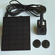 אקווריומים משאבות מים אינו רעיל וחסר טעם מלאכותי עם מתג(ים) מתכווננת מוחרש סולרי 1.4W110V