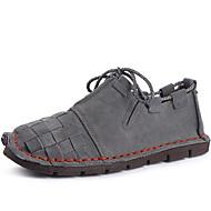 Χαμηλού Κόστους Παπούτσια για πεζοπορία-Ανδρικά Παπούτσια Νάπα Leather Άνοιξη Καλοκαίρι Φθινόπωρο Χειμώνας Ανατομικό Oxfords Πεζοπορία Κορδόνια για Αθλητικό Causal Γραφείο &