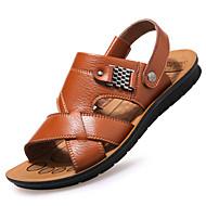 Hombre Zapatos Neopreno Primavera / Verano Confort / Zapatos agujero Sandalias Paseo Negro / Rojo / Caqui / Azul Real o9YHc6v