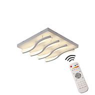 billige Takbelysning og vifter-Moderne / Nutidig Mulighet for demping LED designere Dimbar med fjernkontroll Takplafond Omgivelseslys Til Soverom Baderom Spisestue