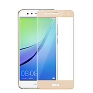 billiga Mobil cases & Skärmskydd-Skärmskydd Huawei för P8 Lite (2017) Härdat Glas 1 st Heltäckande displayskydd Explosionssäker 2,5 D böjd kant 9 H-hårdhet Högupplöst (HD)