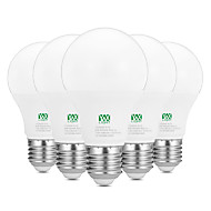halpa -YWXLIGHT® 5pcs 9W 800-900lm E26 / E27 LED-pallolamput 18 LED-helmet SMD 2835 Koristeltu Lämmin valkoinen Valkoinen 100-240V