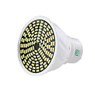 billige Spotlys med LED-5W GU10 GU5.3(MR16) LED-spotpærer MR16 128 SMD 3014 400-500 lm Varm hvit Kjølig hvit Naturlig hvit Dimbar Dekorativ AC 220-240 V 1 stk.