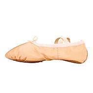 billige Ballettsko-Ballettsko Kunstlær Flate Flat hæl Kan ikke spesialtilpasses Dansesko Militærgrønn / Rød / Blå / Ytelse