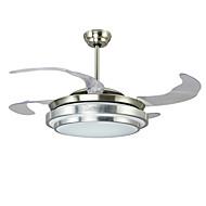 billige Takvifter-Ecolight™ Takvifte Omgivelseslys Nikkel Metall LED 110-120V / 220-240V Varm Hvit / Hvit LED lyskilde inkludert / Integrert LED