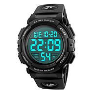 Χαμηλού Κόστους -SKMEI Ανδρικά Άντρας Αθλητικό Ρολόι Στρατιωτικό Ρολόι Μοδάτο Ρολόι Ρολόι Καρπού Ψηφιακό ρολόι Ιαπωνικά Ψηφιακό Συναγερμός Ημερολόγιο