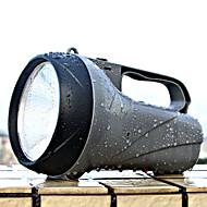 YAGE YG-5710 LED懐中電灯 LED lm 2 モード LED 充電式 調光可能 ハイパワー キャンプ/ハイキング/ケイビング 狩猟 多機能 登山 屋外 グレー