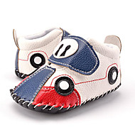 cheap Baby Shoes-Kid's Boys' Shoes Synthetic Fall Winter Bootie First Walkers Sneakers Animal Print Magic Tape for Casual Party & Evening Dress Red Blue