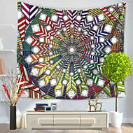 tanie Dekoracje ścienne-Abstrakt Dekoracja ścienna 100% Polyester Retro Wall Art, Ścienne Gobeliny Dekoracja